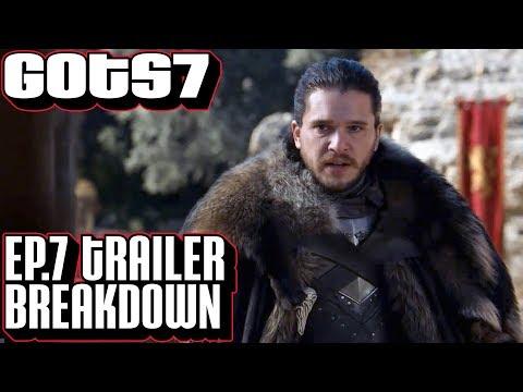 [Game of Thrones] Season 7 Episode 7 Trailer Breakdown   GoT Season Finale Teaser Trailer Dragonpit