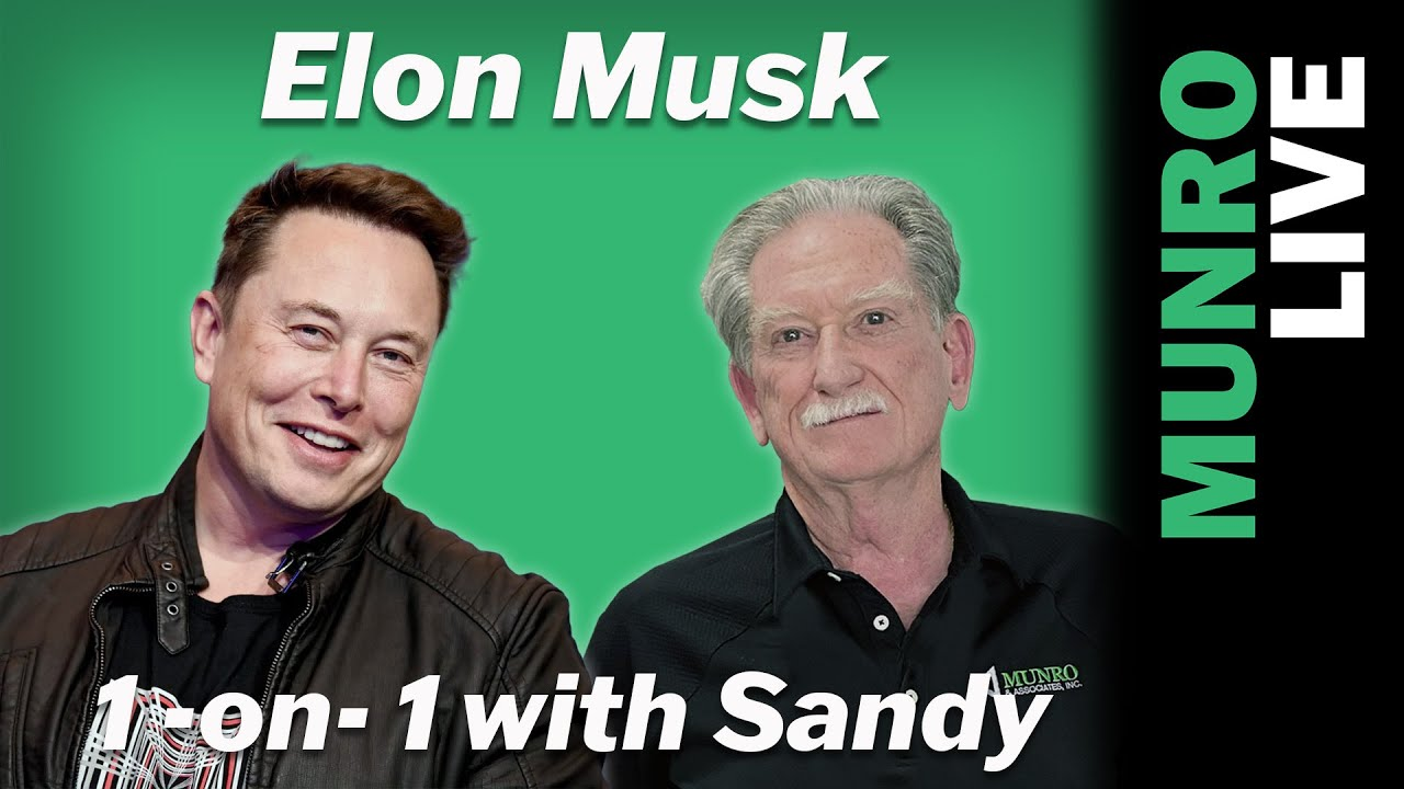 Elon Musk Interview: 1-on-1 with Sandy Munro
