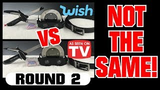 Wish vs As Seen on TV #2: Five MORE Items Compared!