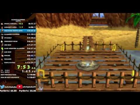 Banjo-Kazooie Speedrun in 1:12:00