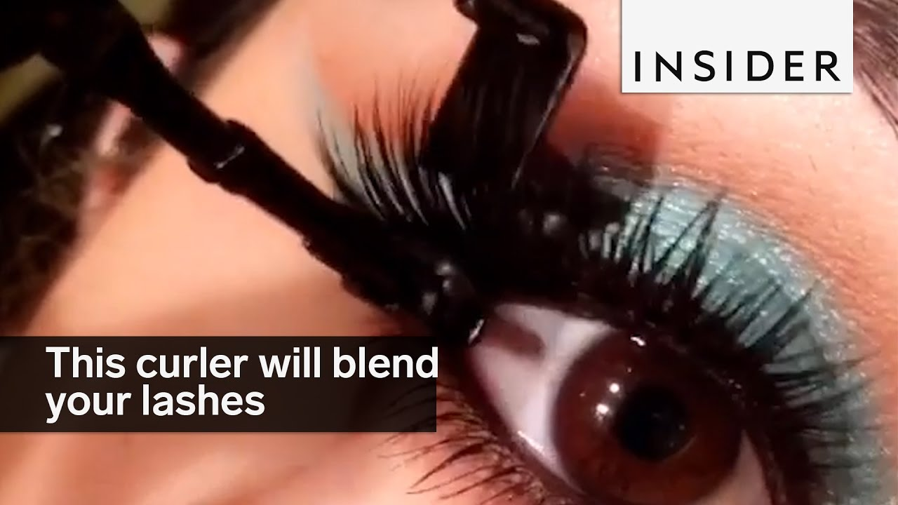 Mini Lash Curler Can Curl And Blend Both Your Real And Fake Lashes