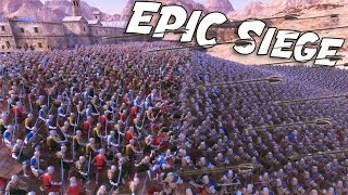 UEBS NEW Persians!  300 Spartans vs 10000 Persians (Ultimate Epic Battle Simulator Gameplay)