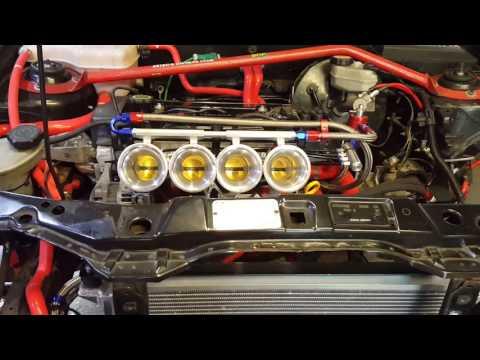 Ford Fiesta Mk5 Zetec S LMS 1.7 Puma ITB first start up