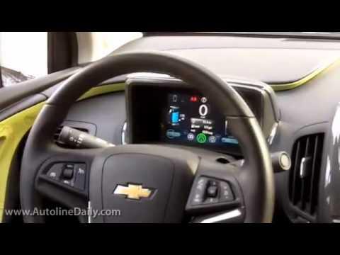 Chevy Volt Test Drive