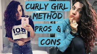 Curly Girl Method PROS & CONS | MONTH ONE | Is it worth it?