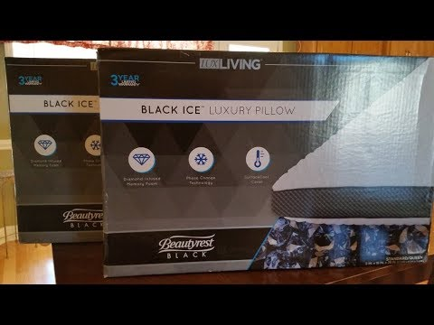 beautyrest black ice pillow vs sealy conform memory foam cooling pillows