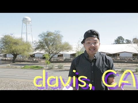 Minute Tour of Davis, California