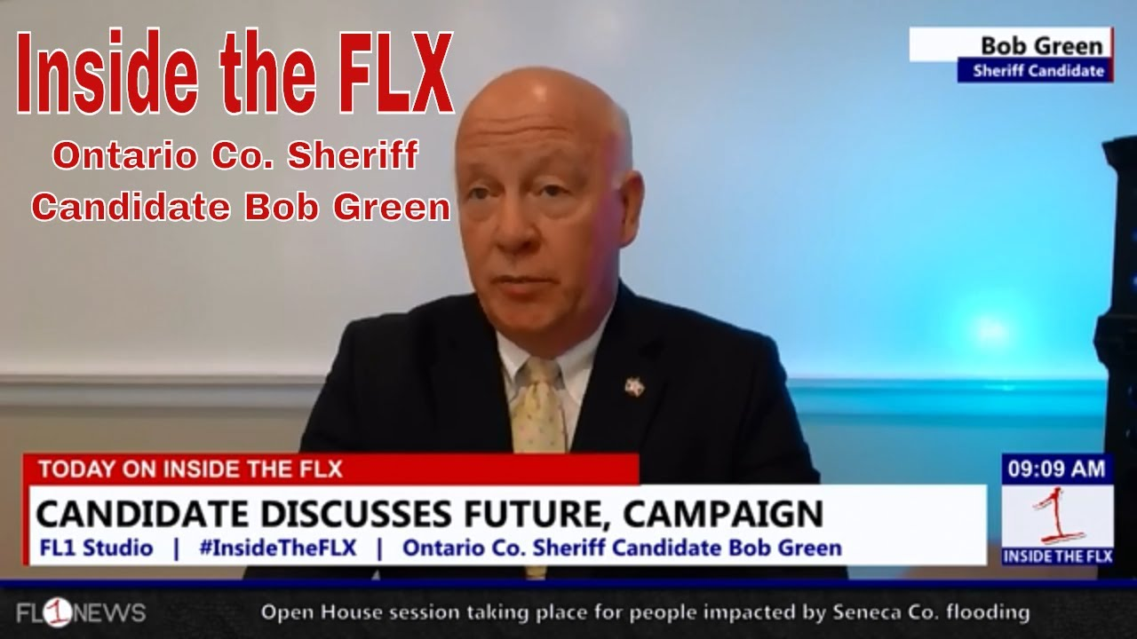 Sheriff Candidate Bob Green on the Issues .::. Inside the FLX 8/31/18