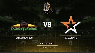 SPL Fall Gauntlet NA Team Allegiance vs Salsa Squadron Game 2