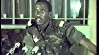 Thomas Sankara - Interview (Rare video)