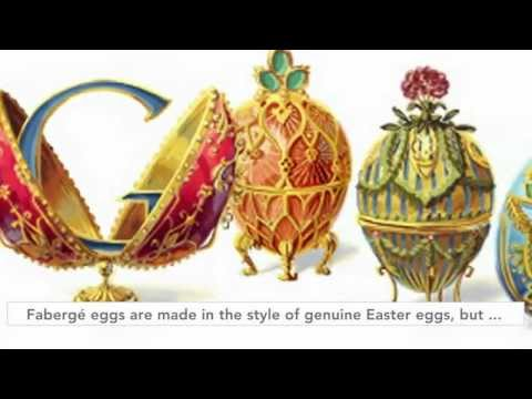 Peter Carl Fabergé Easter Egg Doodle