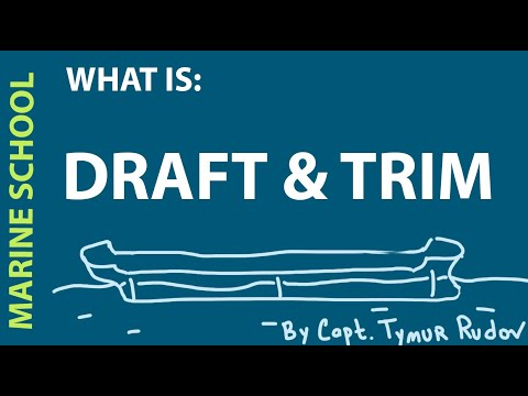 What is ship's draft and trim.