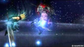 Final Fantasy Dissidia Cloud v.s Gabrath LOQUENDO