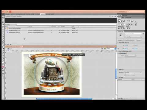 Creating an Interactive Snow Globe with Action Script 3.0
