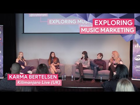 """Exploring Music Marketing"" 