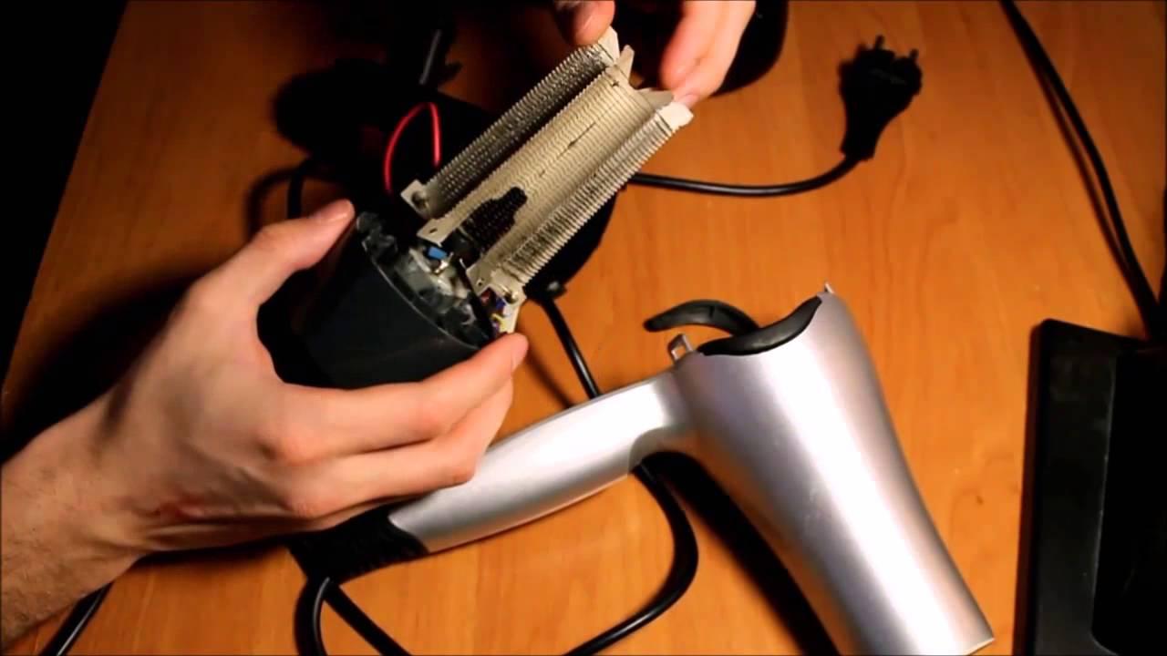 Как разобрать фен для сушки волос Coifin - YouTube
