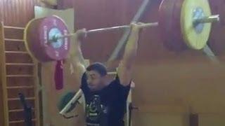 Dmitry Berestov - Push Press 200 kg