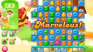 Candy Crush Jelly Saga Level 1434 (3 stars, No boosters)