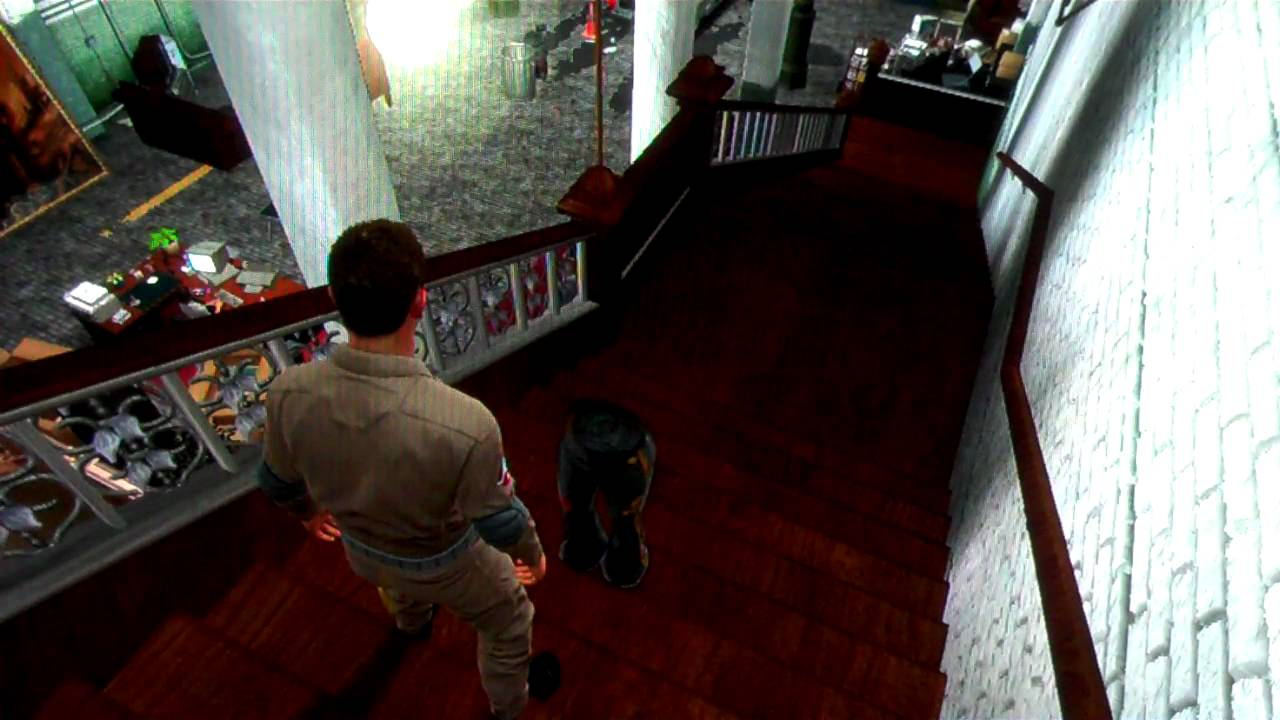 Ghostbusters the video game pants easter egg - YouTube