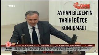 HDP Kars MV Ayhan Bilgen'in Tarihi Bütçe Konuşması