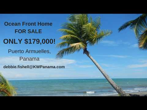 Beachfront Home for sale in Puerto Armuelles, Panama $179,000