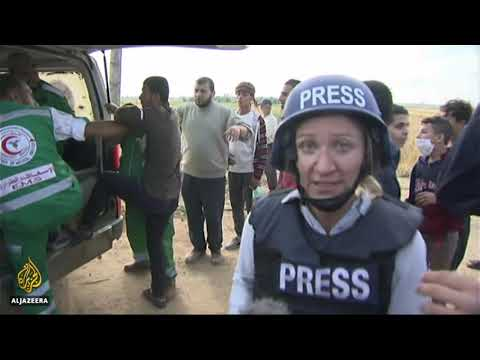 Israeli forces Wounds 955 And Killed 3 At Gaza Protest