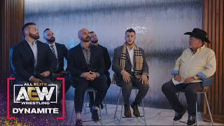 Jim Ross Sits Down with the Pinnacle as They Prepare for Blood and Guts    AEW Dynamite, 4/21/21