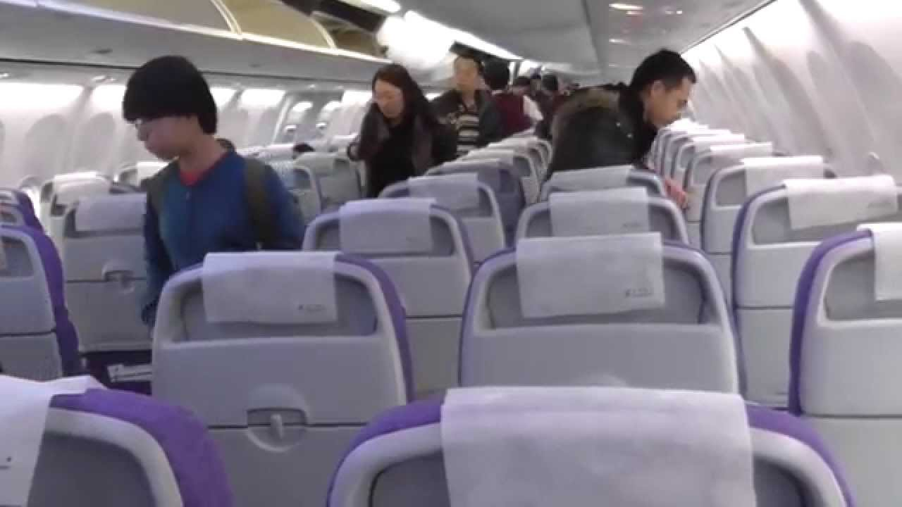 Air China Boeing 737-800 Economy Class Beijing-Harbin ...: https://www.youtube.com/watch?v=YAvIJkGnlzo