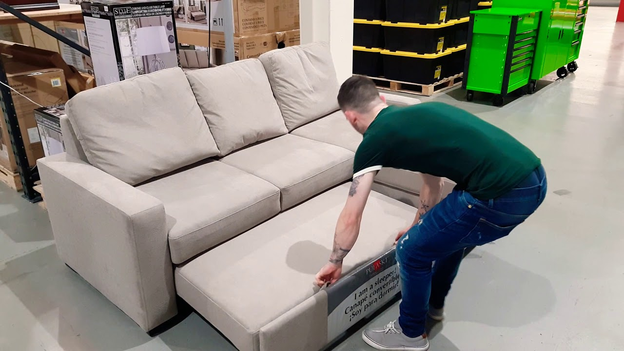- Testing Out Costco's Sofa Beds - YouTube