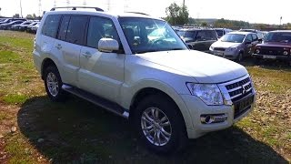 2015 Mitsubishi Pajero Ultimate. Start Up, Engine, and In Depth Tour.