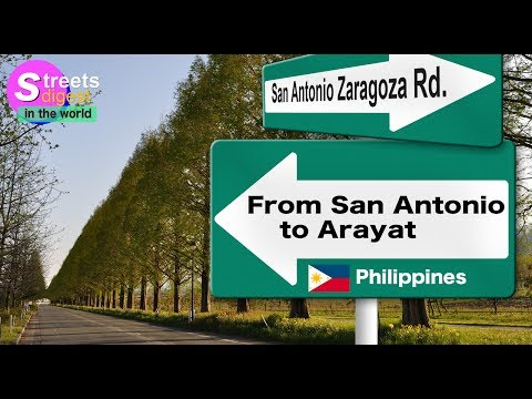 From San Antonio to Arayat [Philippines]
