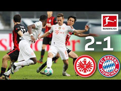 Eintracht  Frankfurt Bayern Munich Goals And Highlights