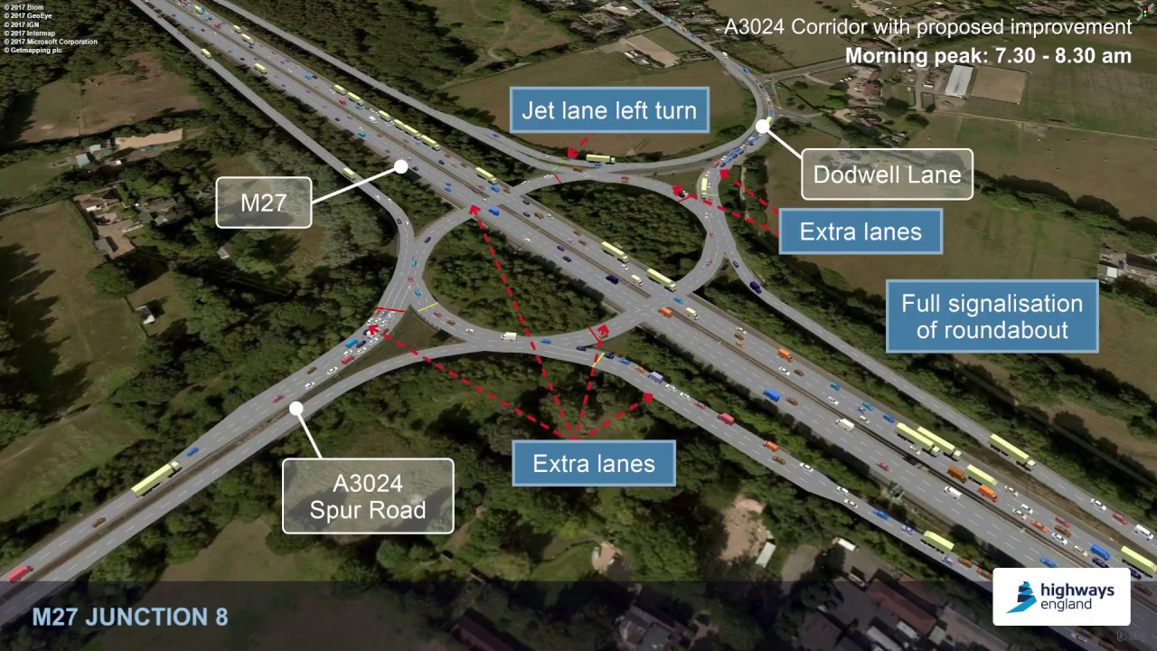 M27 Southampton Junctions Highways England Citizen Space