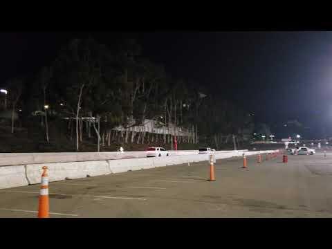 2018 Dodge Durango SRT vs Jeep SRT WK1.  SDCCU stadium race legal