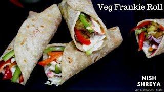 Sooji Frankie Roll Recipe - 2 Ways! | Sooji Ki Roti Roll Recipe | Khathi Roll Recipe