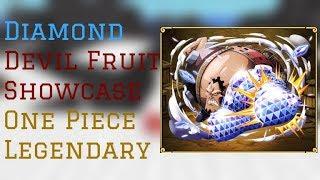 Diamond Devil Fruit Showcase | One Piece Legendary Roblox | ConFuseeed