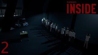 INSIDE прохождение на геймпаде часть 2 Бычьи черви и косим под зомбака