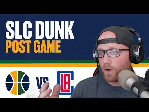 SLC Dunk Post Game Show: Utah Jazz lose to LA Clippers 10/25/1017