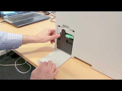C2670-3060 - Replacing the Waste Toner Bin