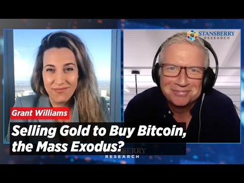 Selling Gold To Buy Bitcoin, The Mass Exodus? | Grant Williams
