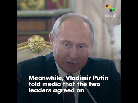 China & Russia Supports Venezuela Against US Intervention