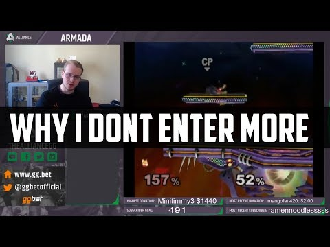 Why I Don't Enter More Tournaments