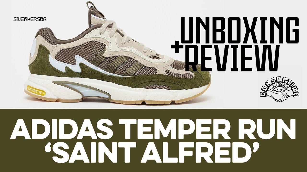 adidas Consortium Temper Run x St