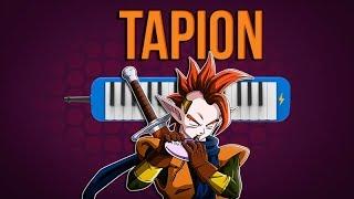 Como tocar Tapion - ( dragon ball z ) - facil con notas [ MELODICA ][ TUTORIAL ]