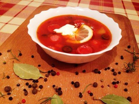 Мясная сборная солянка - рецепт приготовления