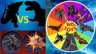 ГОДЗІЛЛА ПРОТИ ДИНОЗАВРІВ!! Прядка Гру Годзілла Король Монстрів Динозавр Іграшки Юрського