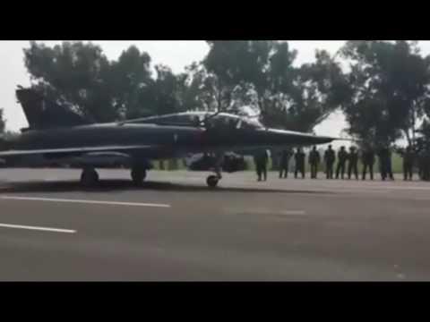 PAF Mirage On M2 Islamabad To Peshawar Motorway during PAF