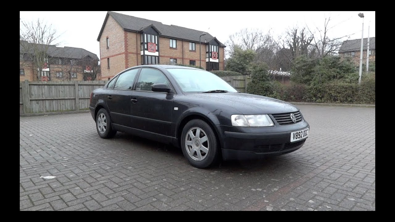 1999 volkswagen passat 1 9 tdi sport start up and full vehicle tour youtube. Black Bedroom Furniture Sets. Home Design Ideas