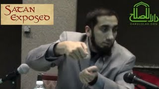 Satan Exposed ┇FUNNY┇ Ustadh Nouman Ali Khan ┇Smile...itz Sunnah┇