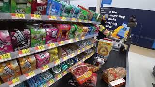 January 1, 2019/03 Grocery shopping Walmart Arkadelpia Arkansas